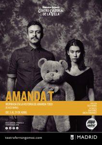 Hasta el 29 de abril, AMANDA T, en el Teatro Fernán Gómez