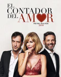 Desde el 8 de mayo, El contador del Amor, en el Teatro Reina Victoria.