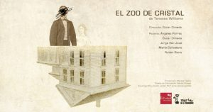 Se estrena El Zoo de Cristal en Teatro Estudio 2 Manuel Galiana