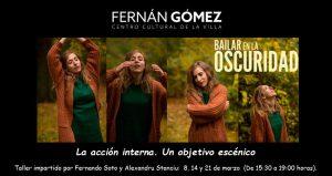 """En el Fernán Gómez se estrena la versión teatral de """"Bailar en la oscuridad"""""""