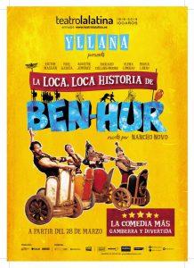 Nancho Novo e Yllana nos llevan a Roma; en el Teatro de la Latina