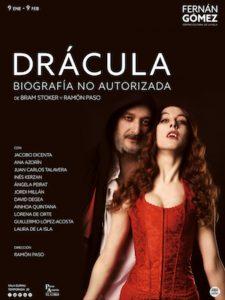 La biografía no autorizada de Drácula llega al Teatro Fernán Gómez.