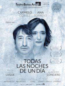 """Hasta marzo, en el Teatro Bellas Artes """"Todas las noches de un día"""" No se la pueden perder."""